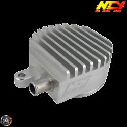 NCY Crankcase Breather High-Flow Billet Silver (Yamaha Vino 125)