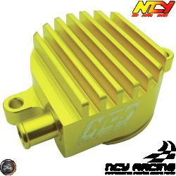 NCY Crankcase Breather High-Flow Billet Gold (Yamaha Vino 125)