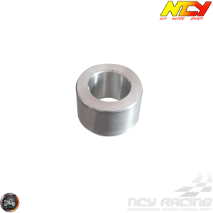 NCY Front Axle Spacer 12mm Silver (Ruckus, Zoomer)