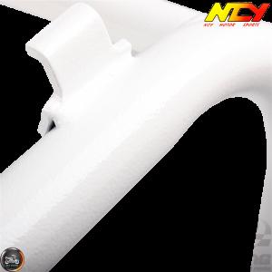 NCY Seat Frame Lowered Hammer White (Honda Ruckus)