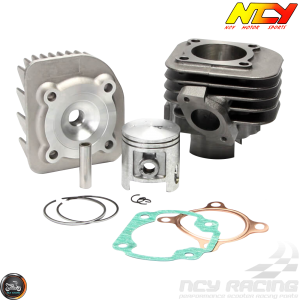 NCY Cylinder 47mm 72cc Big Bore Kit w/Alumin Piston (Aprilia, JOG, Zuma 50)