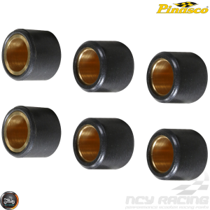 Pinasco Variator Roller Weight Black Set 15x12 5gm (Aprilia, JOG, Zuma 50)
