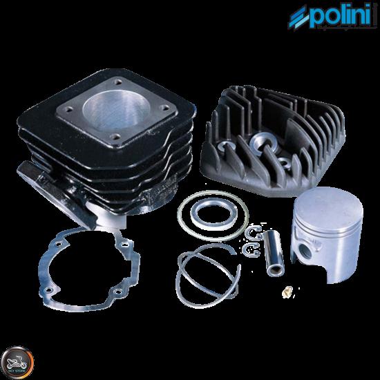 Polini Cylinder 47mm 70cc Corsa Big Bore Kit w/Alumin Piston (Honda Dio)