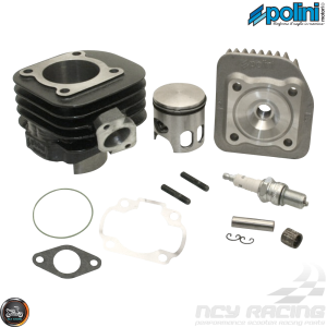 Polini Cylinder 47mm 70cc Corsa Big Bore Kit w/Alumin Piston (Aprilia, JOG, Zuma 50)