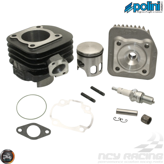 Polini Cylinder 47mm 70cc Corsa Big Bore Kit w/Alumin Piston (Aprilia, JOG, Zuma 50)