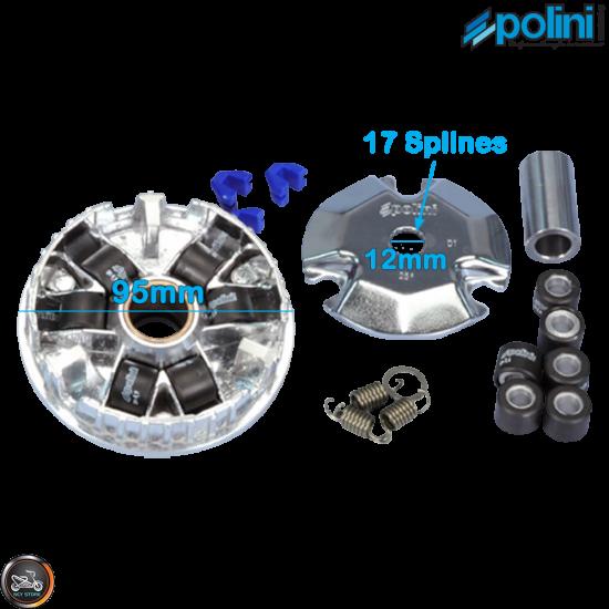 Polini Variator 95mm Set (Aprilia, JOG, Zuma 50)