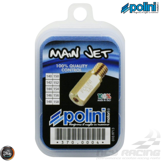 Polini PWK Main Jet 140-158 10-Pcs Kit