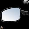 Prima Bar-End Mirror 7/8in Vintage Black (Universal)
