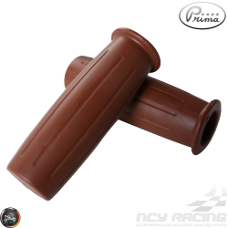 Prima Throttle Grip 7/8in Bottle Brown Set (GY6, Ruckus, Universal)
