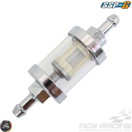 SSP-G Fuel Filter In-line Fit 1/4in (Universal)