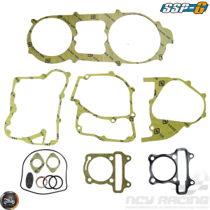 SSP-G Engine Gasket 63mm Set Fit 57mm (GY6)