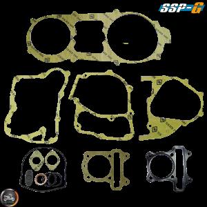 SSP-G Engine Gasket 63mm Set Fit 57mm (GY6)