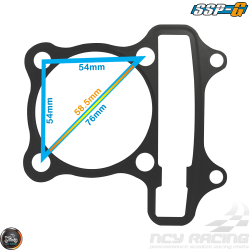 SSP-G Engine Gasket 58.5mm Set (GY6)
