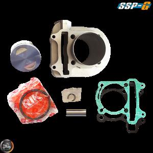 SSP-G Cylinder 63mm 180cc Big Bore Kit w/Cast Piston Fit 57mm (GY6)