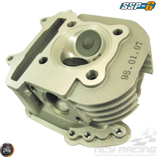 SSP-G Cylinder Head 61mm 171cc 2V 27.75/23 Fit 54mm (GY6)