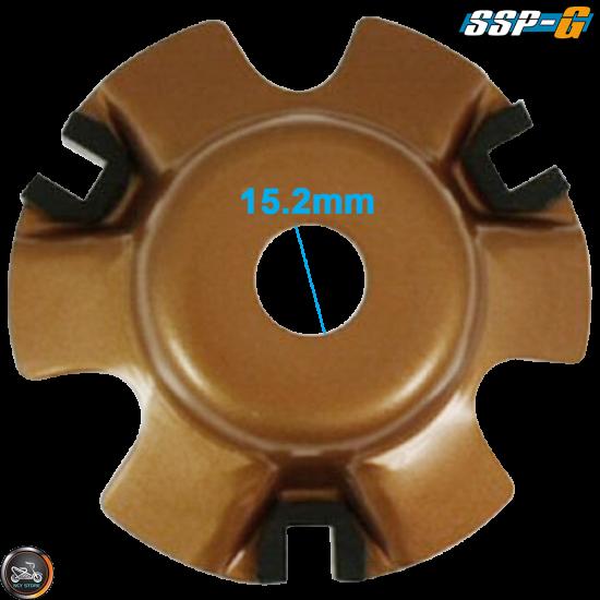 SSP-G Variator 115mm Coated Gold Set (GY6)