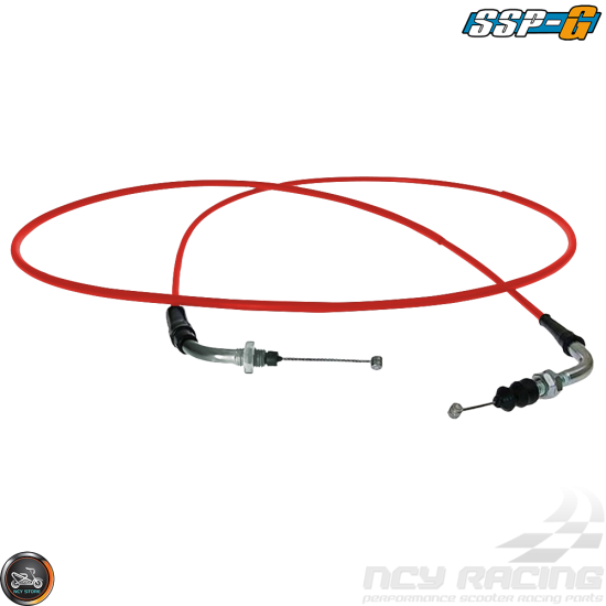 SSP-G CVK Throttle Cable 70in (QMB, GY6, Universal)