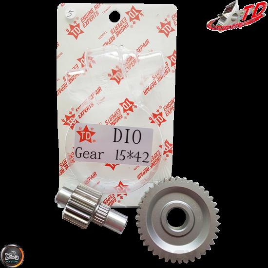 Taida Gear Set 15*42 (Honda Dio)