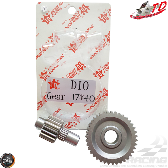 Taida Gear Set 17*40 (Honda Dio)