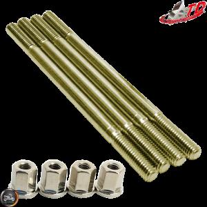 Taida Cylinder Stud 130mm w/Nut Set (Honda Dio)
