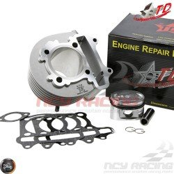 Taida Cylinder 57.4mm 150cc Big Bore Kit w/Cast Piston Fit 54mm (GY6)