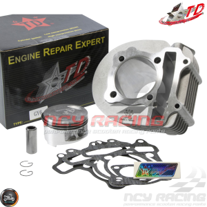 Taida Cylinder 63mm 180cc Big Bore Kit w/Cast Piston Fit 57mm (GY6)