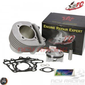 Taida Cylinder 67mm 232cc Ceramic Bore Kit w/Cast Piston Fit 57mm (GY6)