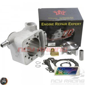 Taida Cylinder 67mm 232cc Liquid Cool Ceramic Kit w/Forged Piston (GY6)