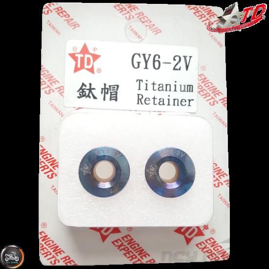 Taida Valve Spring Retainers Titanium 2V (139QMB, GY6)