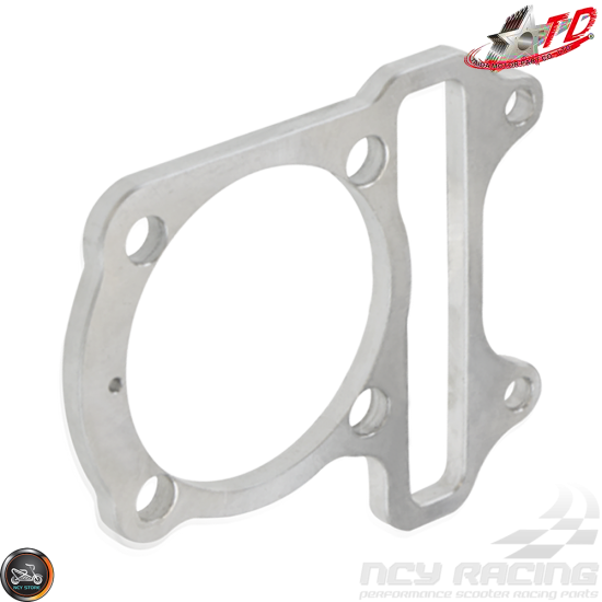 Taida Cylinder Spacer 6mm 65.5mm Gasket Fit 54mm (GY6)