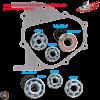 Taida Transmission Bearing Set (GY6)