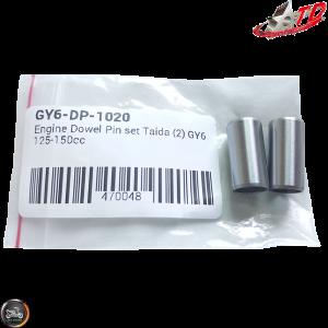 Taida Dowel Pin 10x20mm Set (QMB, GY6, Universal)