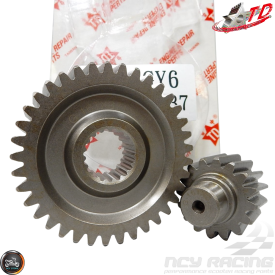 Gear Secondary 13//42/ for Gy6/ 125//150ccm