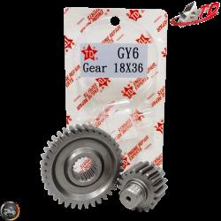 Taida Gear Set 18*36 (GY6)