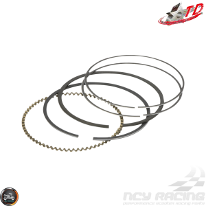 Taida Piston Rings 58.5mm 0.8/0.8/2.0 Set (GY6)