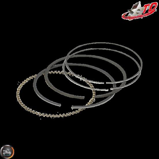 Taida Piston Rings 63mm 0.8/0.8/2.0 Set (GY6)