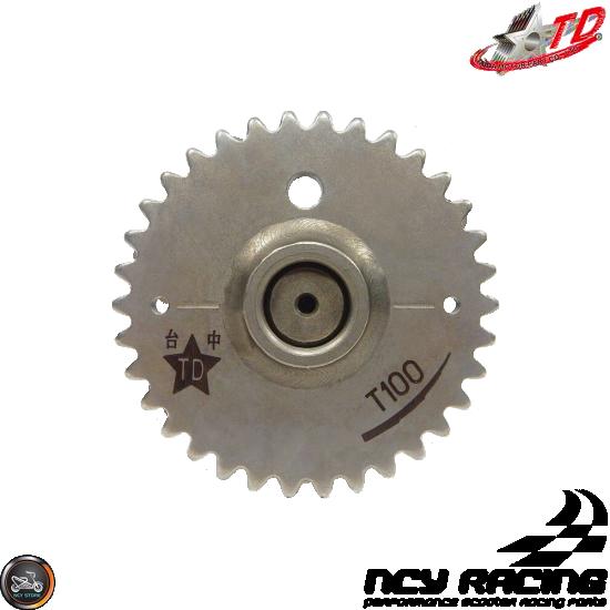 Taida Camshaft T-100 2V 6.4/6.3 Medium Rev (GY6 180-232cc)