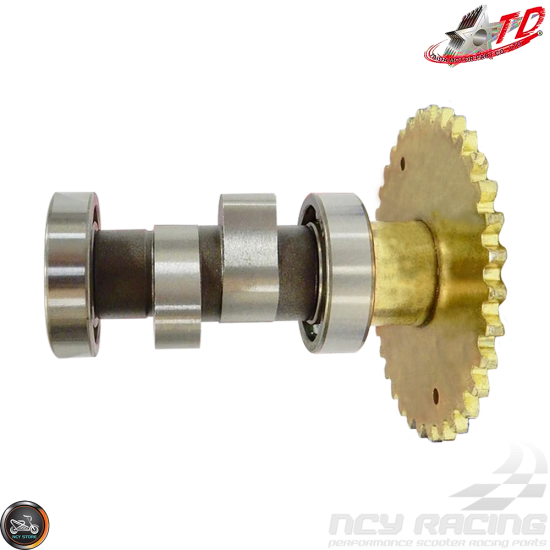 Taida Camshaft T-ONE 2V 6.6/6.4 High Rev (GY6 200-232cc)