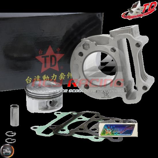 Taida Cylinder 50mm 81cc Big Bore Kit w/Cast Piston (139QMB)