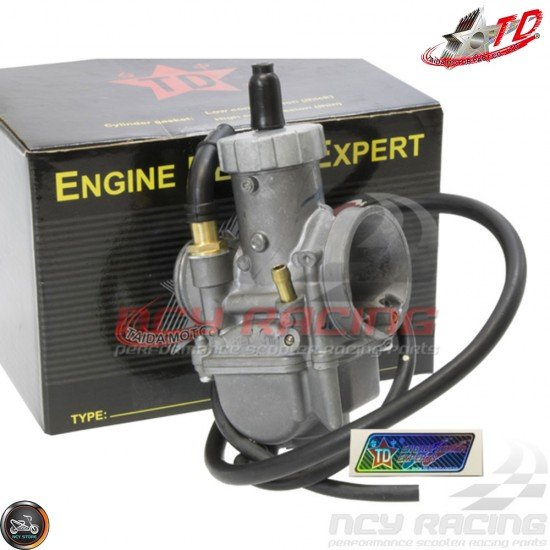 Taida Carburetor PE28 Racing (DIO, QMB, GY6)