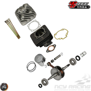 TFC Cylinder 54mm 101cc Big Bore Kit w/Crankshaft 44.4mm (Honda Dio)