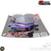 TFC Valve Cover w/Cooling Fins (Vino, Zuma 125)