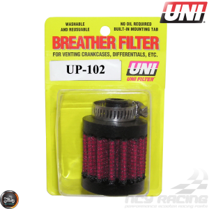 "Uni Breather Filter 3/8"" Clamp-On (UP-102)"