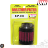 "Uni Breather Filter 5/16"" Clamp-On (UP-101)"