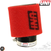 UNI Air Filter Pod 63.5mm 15° Angle (UP-4245AST)