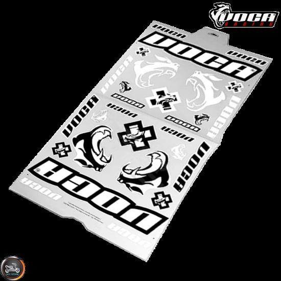 "VOCA Sticker Race Squad Set (22x12"" Sheet)"