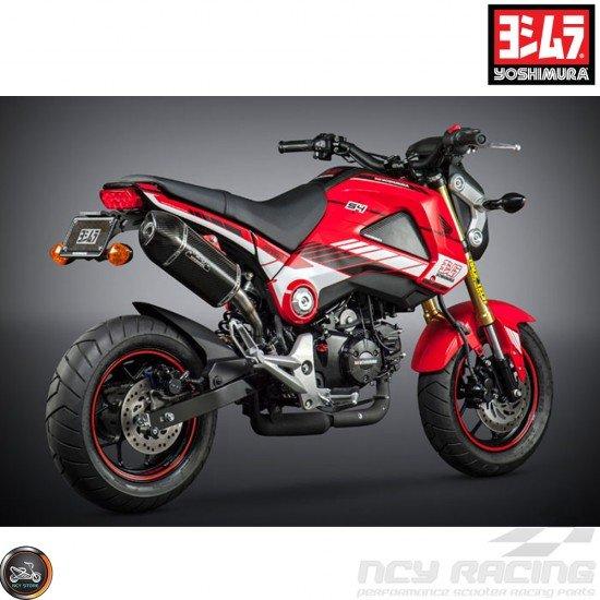 Yoshimura Graphics Decal Kit Red 2014-15 (Honda Grom)